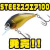 【ダイワ】全国のポイントで活躍する小粒クランク「STEEZスクエア100」発売!