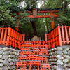 稲荷山⑤:奥社奉拝所参拝後、命婦谷と根上り松のお塚を見る