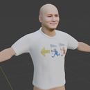 Tシャツのモデリング ~その3~【Blender #519】
