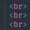 VS CodeでHTMLの<br>タグを[shift+enter]で入力するエクステンション作った