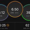 ジョギング6.50km・引き続きリハビリラン&ウォーク