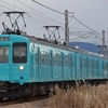 第738列車 「 2丁パンタパラダイス!桜井線の初詣臨に充当された105系を狙う 」