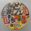 姫路市飾磨区のイオンで「日清の汁なしどん兵衛 釜たま風うどん」を買って食べた感想