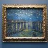 オルセー美術館2階。自然主義と後期印象派の絵画たち。