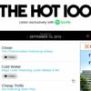 """2016/9/10 Billboard Hot 100ランキングでザ・チェインスモーカーズ (The Chainsmokers) """"Closer""""が1位を獲得"""