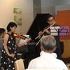 首都大学東京の国際交流センター「ルヴェソン ヴェール」でランチコンサートを楽しむ