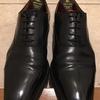 靴磨き初心者が靴を磨くシューシャイン