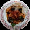 おしょぶ~さん経由餃子の王将「鶏ときのこの旨辛豆豉炒め」を期間限定アイコンに