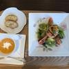 関内の風我亭の黒カレー&サラダセット