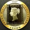 マン島1990年5オンス金貨ペニーブラック150年記念金貨