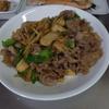 幸運な病のレシピ( 1890 )朝:ギス煮つけ、鮭、鳥手羽、牛肉青椒肉絲風、味噌汁