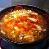 【今週のラーメン492】 杯杯 天山閣 (大阪・上本町) サンラータン麺・ぴり辛黒酢味