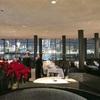 ハドソン川沿いでマンハッタンの景色を楽しめるレストラン