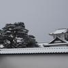 雪景色シリーズ(その8)「金沢城」
