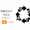 通勤ランニングのお供にボディバッグの購入を検討中[習慣化日次PDCA 2018/11/11]