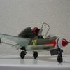 ハインケル He162「デカール貼り付け終了。」