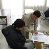 コンパス測量の製図・修了記念製作