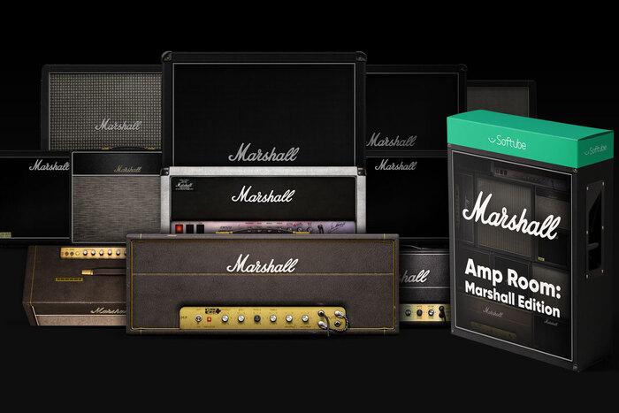 MARSHALLギター・アンプ&キャビネット・シミュレーターのコレクション、SOFTUBE Amp Room: Marshall Edition
