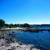 透明感のある青い海 長崎鼻公園 いちき串木野市