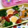 ヨメさん弁当〜豚丼の具・味付け卵・カレーチキン〜