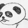 パンダを書いていたら、だんだんきもくなった件(笑)