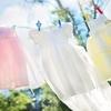 普通のハンガー2本だけ使って、絶対に風に飛ばされずに洗濯物を干す方法