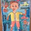 3年生:図工 あの日あのときの気持ち 完成