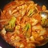 【業務スーパー】カットトマト缶で鶏肉のトマト煮を作る