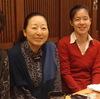 金沢、加賀友禅作家久恒俊治さん夫妻と金沢工大の久恒彩子さんと食事