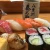 ランチ日記 #21 八重洲の藤乃鮨でにぎり寿司 & 「みはし」のあんみつ