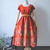 バティックワンピースドレス。