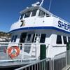 目指せマッキナック島(マキノー島、Mackinac  Island)。上陸するためにフェリーにまず乗ります。
