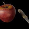 リンゴのモデリング ~その5:テクスチャペイント、プロジェクションペイント~【Blender #504】