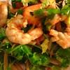 ✴︎味噌+柘榴モラセス+ハリッサでゴーヤ炒め、 ナンプラー+柘榴モラセス+ハリッサ+唐辛子でエビ香菜サラダ
