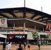 サッカーアジアチャンピョンズリーグベスト4決定戦。サンアムワールドカップ競技場に行って見た。