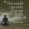 エックハルト・トール【Life is Here to Challenge All of Us 】日本語訳「自分の人生に難題が降りかかる意味」