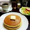 ふんわり甘くて厚いホットケーキ「花時計」@日本橋