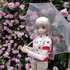 雨のバラ園→温泉→おにくー