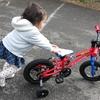 2歳の誕生日プレゼントはヨツバサイクルの自転車 12インチと2歳児の実際その2