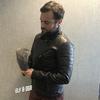テーラーメイドのレザージャケットを受け取りました