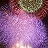 淀川花火に行ってきたよ。