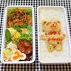 クマ入り洋食弁当の記録と半熟卵の備忘録/My Homemade Boxed Lunch/ข้าวกล่องเบนโตะ
