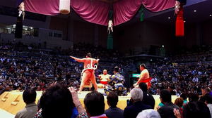 相撲を英語で観戦しよう!
