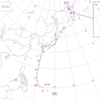 1985年に関東に接近した台風