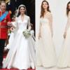 キャサリン妃のウエディングドレスのレプリカ