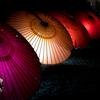 ライトアップされた明日香村「飛鳥光の回廊」