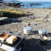 """波の音を聞きながらの朝食""""Beach Morning""""と夏の終わりに久々のドローン空さんぽ"""