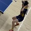 「久しぶりの試合は…」 ゆな選手(21クラブ)三重県卓球 ジュニアの部