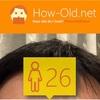今日の顔年齢測定 28日目
