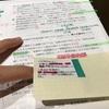235日目:模試の問題用紙を改造中